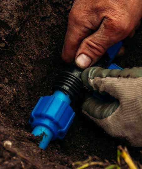 Losey's Lawn & Landscape, Inc. Irrigation Installation
