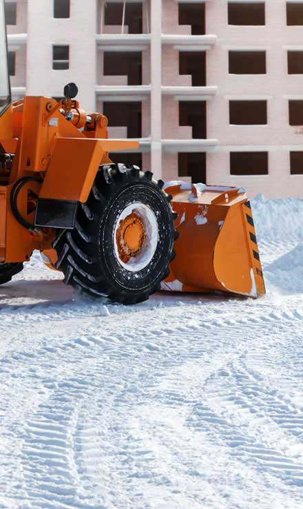 Losey's Lawn & Landscape, Inc. Commercial Snow Removal