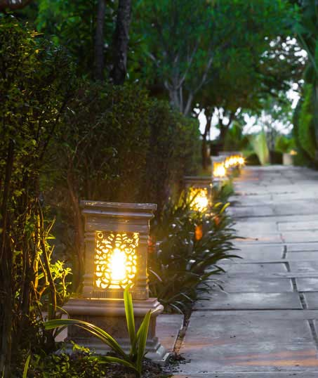 Losey's Lawn & Landscape, Inc. Residential Landscape Lighting