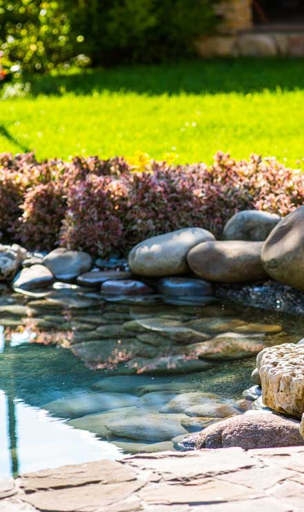 Losey's Lawn & Landscape, Inc. Residential Water Features