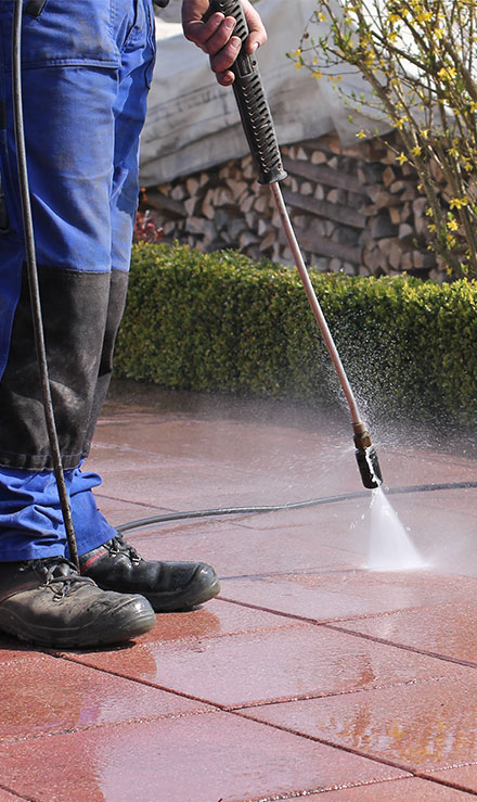 Losey's Lawn & Landscape, Inc. Power Washing